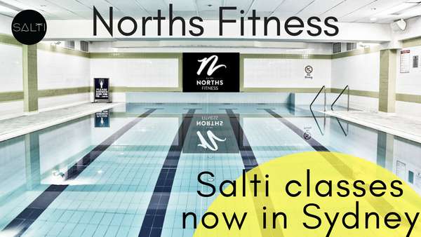 NORTHS Fitness Cammeray - Salti Float classes in Sydney - float fit yoga