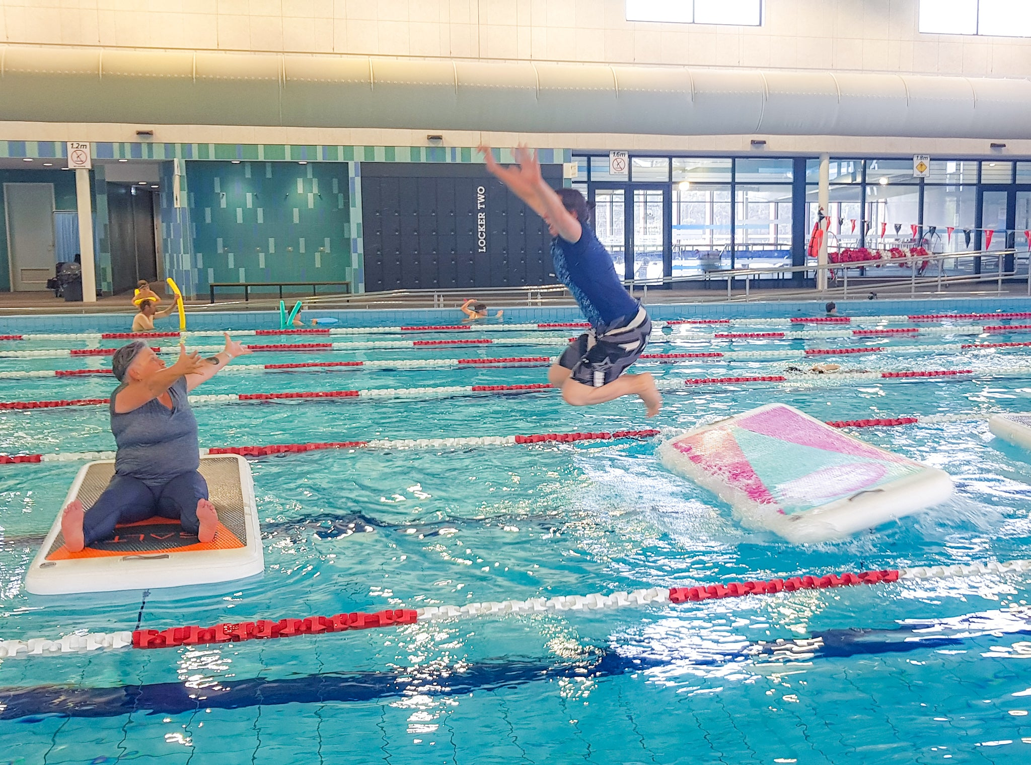Fleurieu Aquatic Centre instructor training Salti