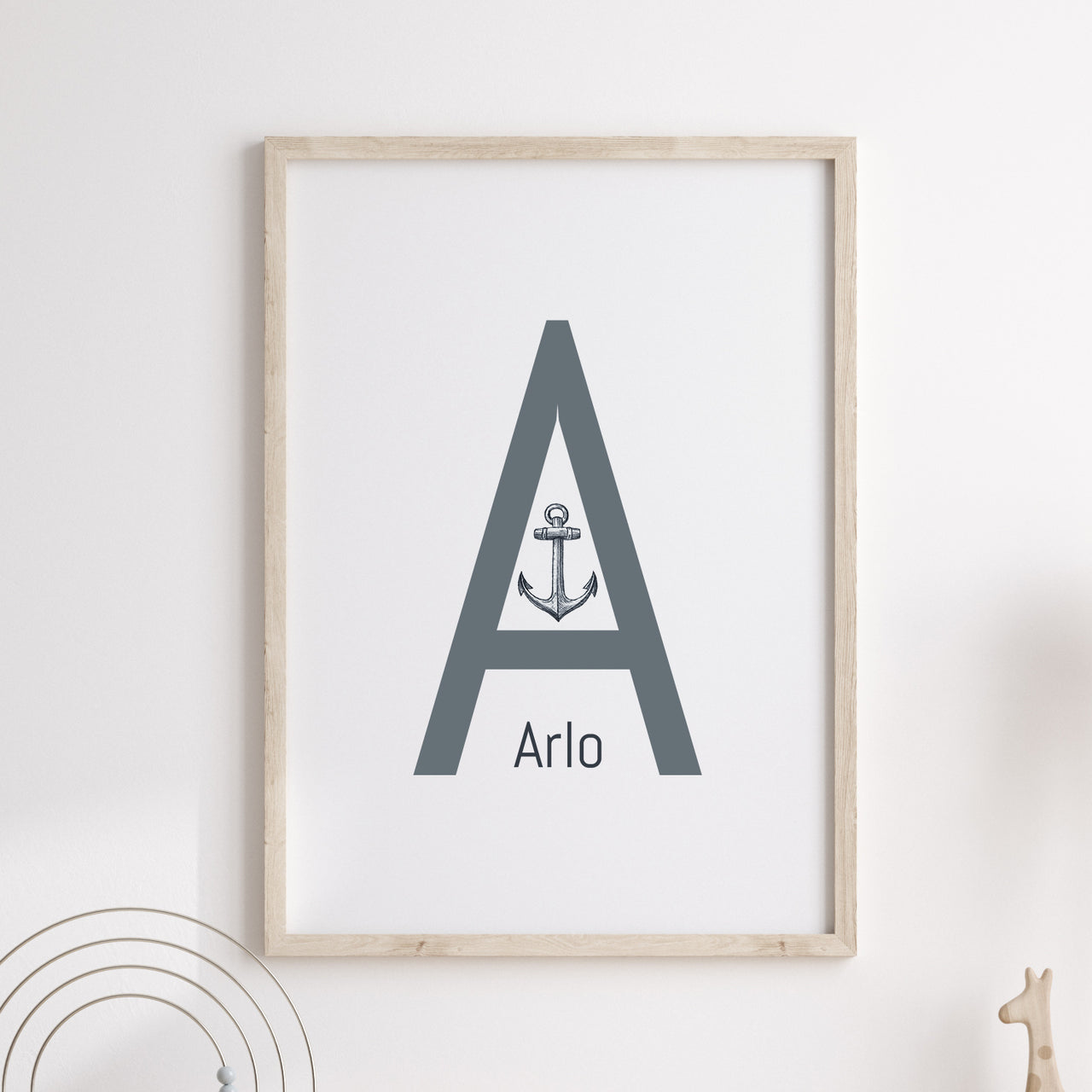 A is for Anchor
