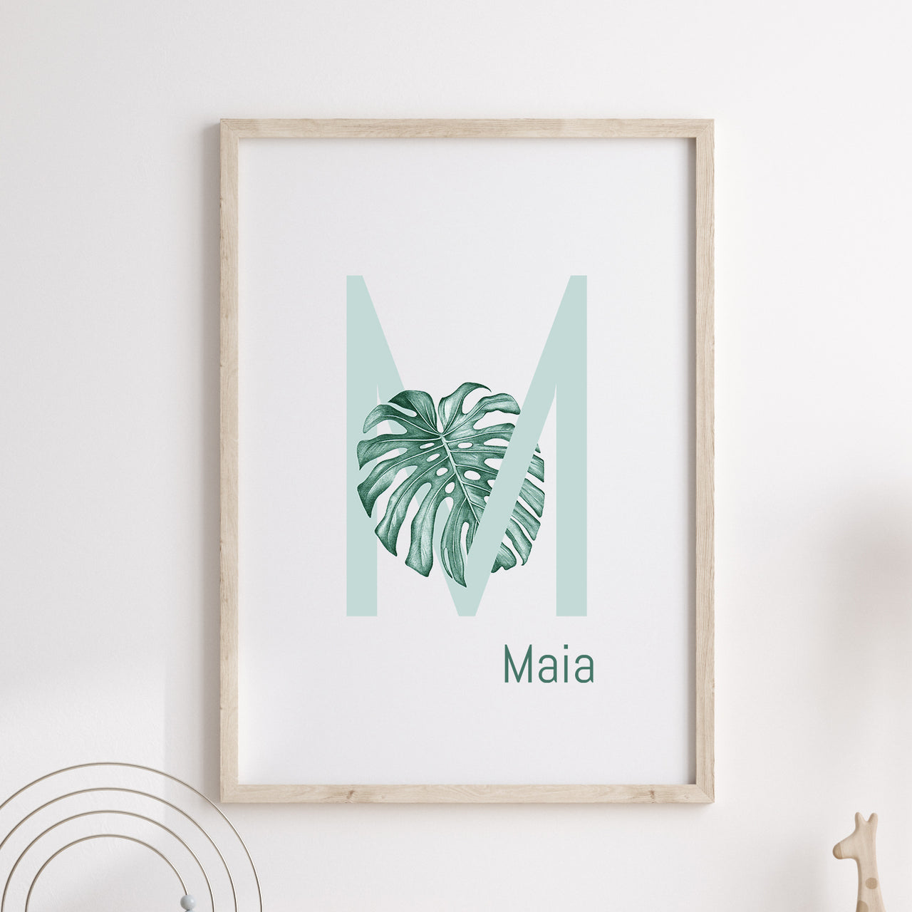 M is for Monstera