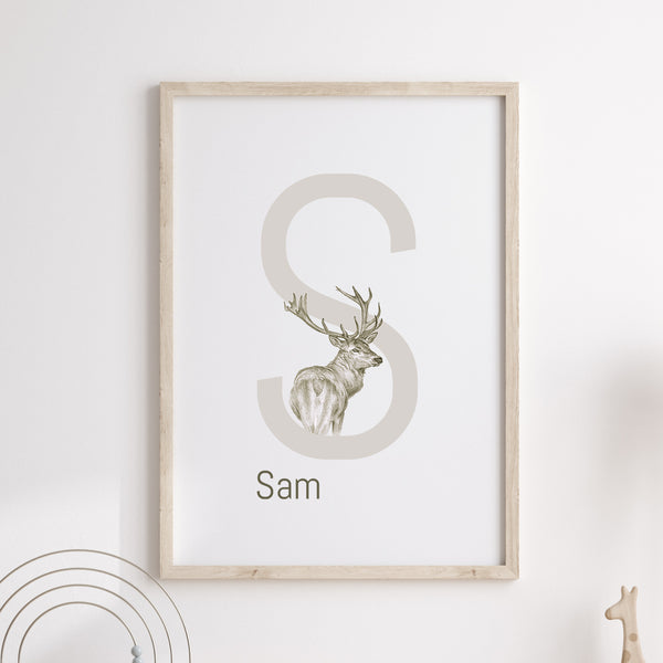 S is for Stag