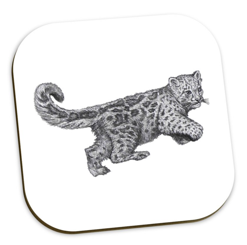 Jaguar Coaster Set