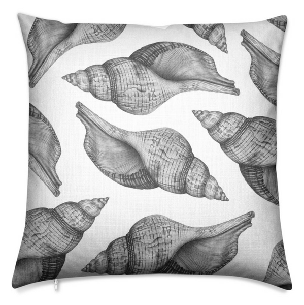Seashell Chalk Large Cushion