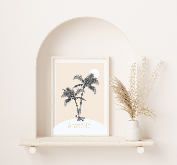 Any Letter Island Print