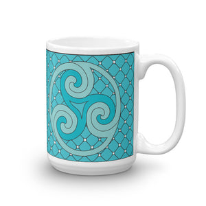 """Earth, Sea, and Sky"" Tall Mug"