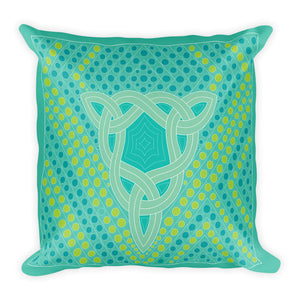 """Fertile Triangle"" Designer Pillow"