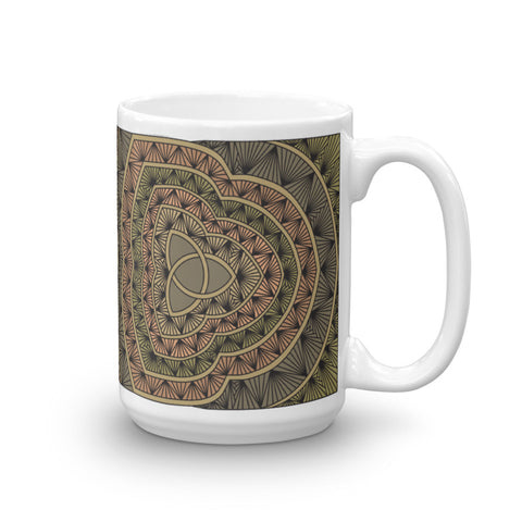 """Mind, Body, Spirit"" Tall Mug"