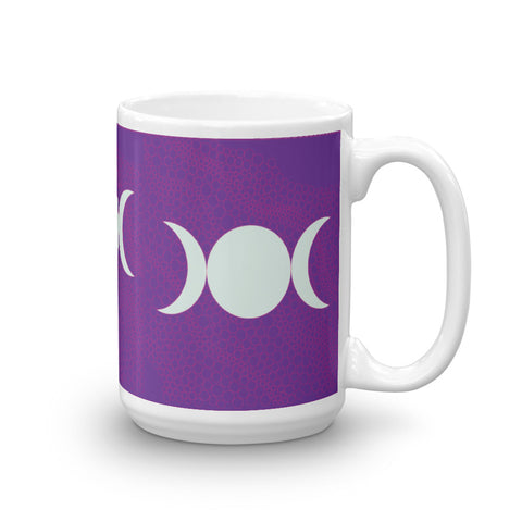 """Triple Moon"" Tall Mug"