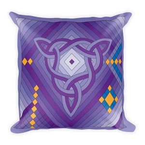 """Sacred Space"" Designer Pillow"