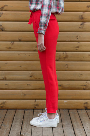 PANTALON BIL - ROUGE