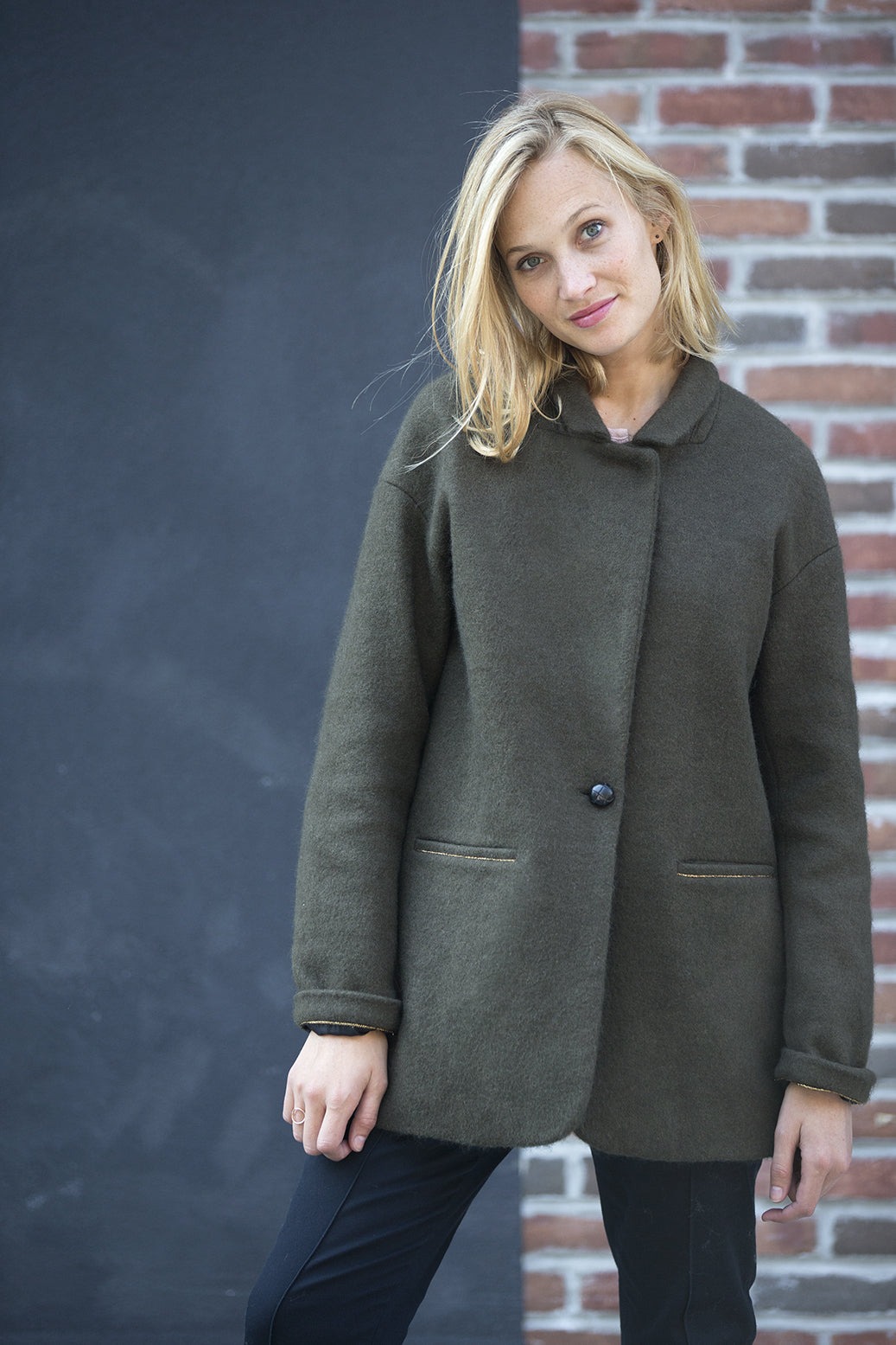 MANTEAU BILLY - KAKI