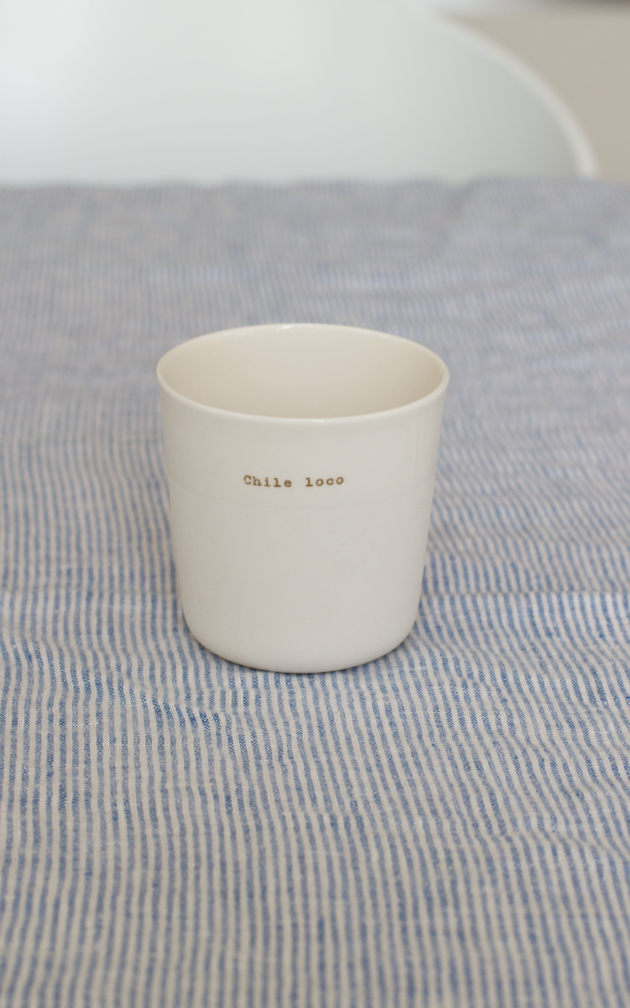 Tasse à thé NOT SO FAR x SOPHIE MASSON PORCELAINE