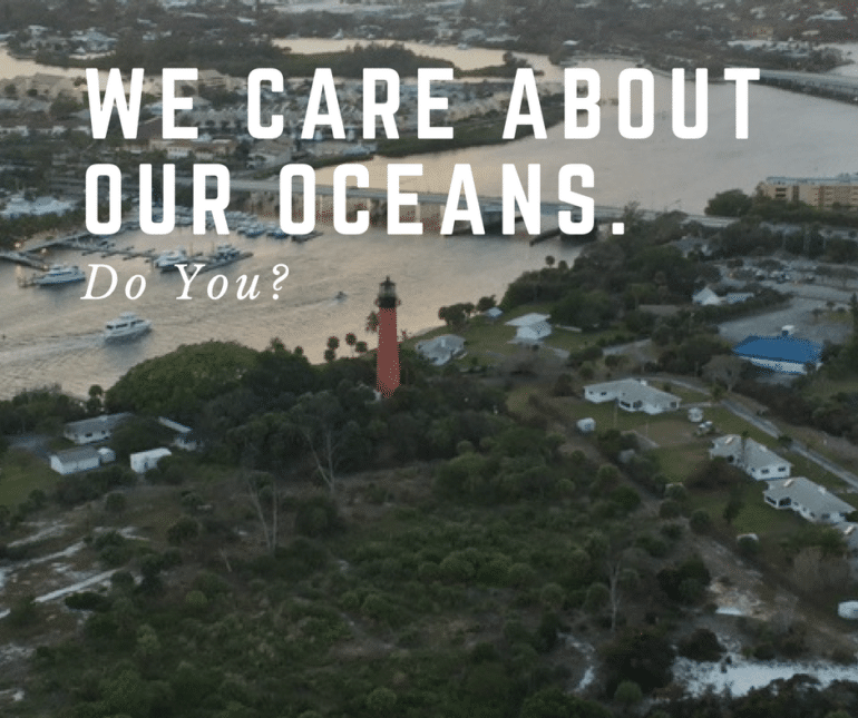 We Care About Our Customers & Our Oceans