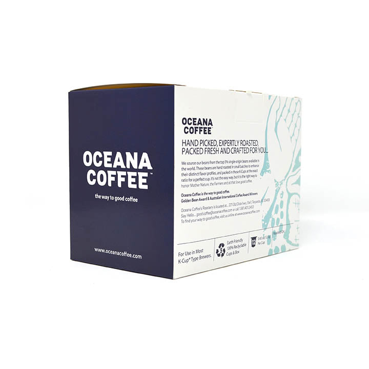Mexico - Chiapas (Fair Trade, Organic) 12 Pack K-Cups - Oceana Coffee Roasters