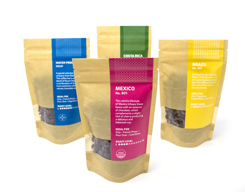 Oceana Coffee Sample Packs