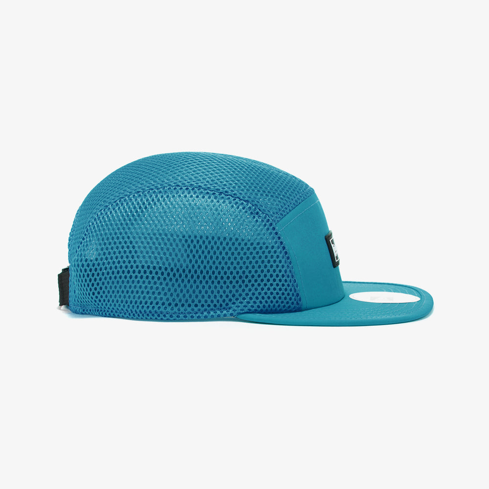 Diamond Mesh Track JetCap 'Teal'