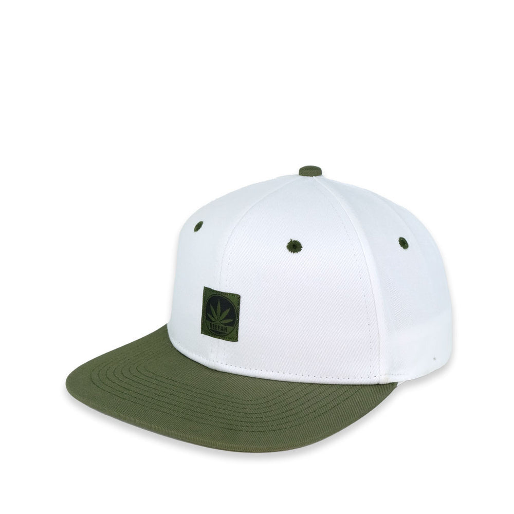 Greenie Snapback 'White'