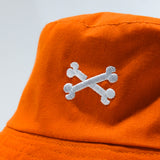 Calavera Bucket Hat 'Orange'