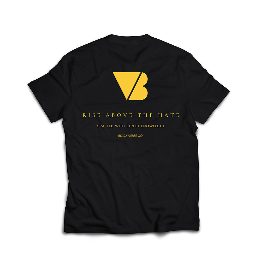 Rise Above The Hate 'Black/Gold'