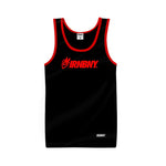 IRNBNY Logo Tank Top 'Black/Red'