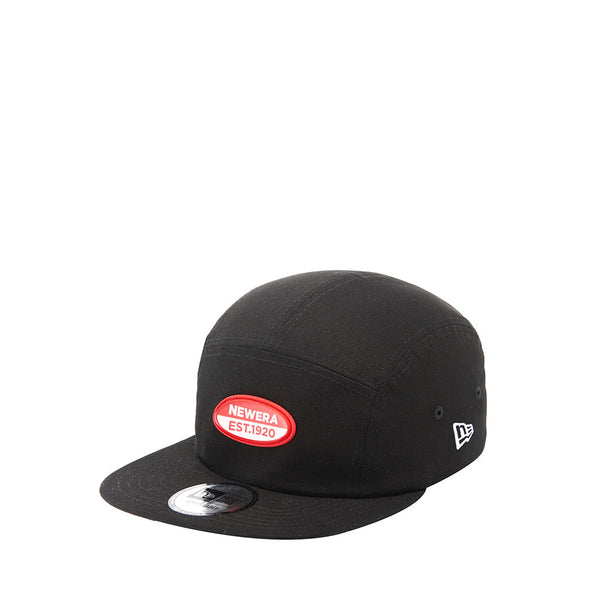 Clear Oval Jet Cap Black