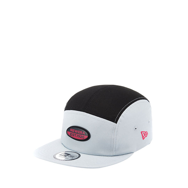 Clear Oval Jet Cap Gray