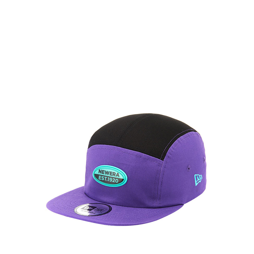 Clear Oval Jet Cap 'Purple'