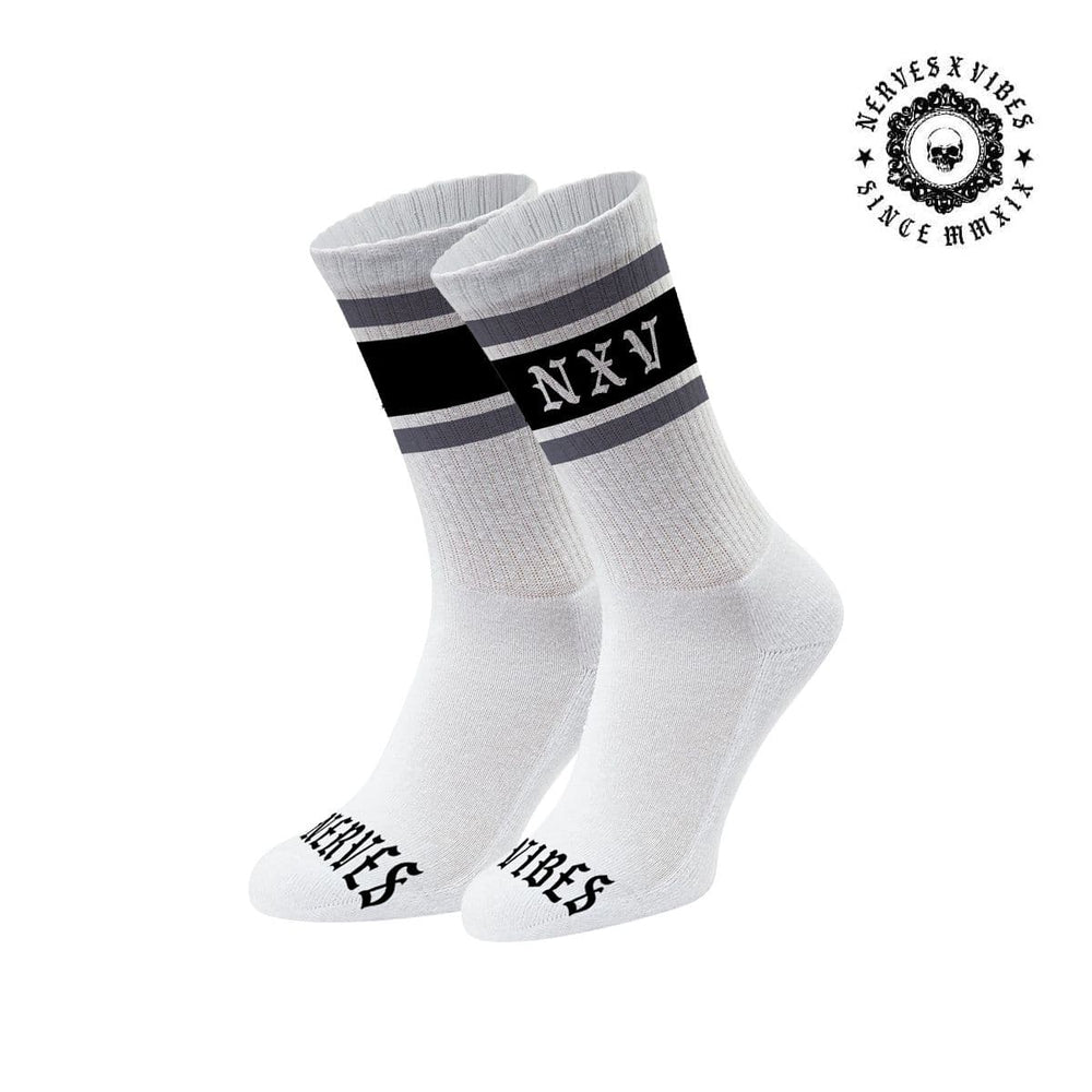 Crew Socks 'Grey/Black'