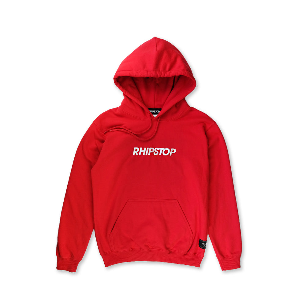 Bold Logo Hooded Sweatshirt 'Red'