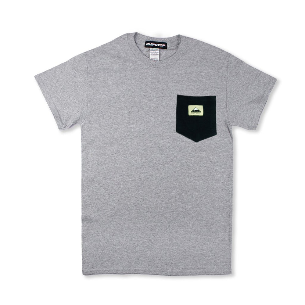 OUTDOORS™ Pocket T-shirt 'Gray/Black'