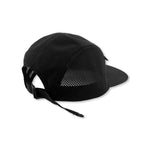 Technical Five Panel Cap 'Black'