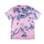 New Era® x Rhipstop Tie Dye T-shirt 'Pink/Blue'