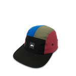 Multi-Color Five Panel Cap