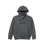 Worldwide Logo Hooded Sweatshirt 'Heather Black'