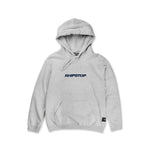 Worldwide Logo Hooded Sweatshirt 'Navy Blue'
