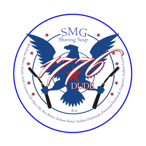 SMG 1776 DUDE Shaving Soap