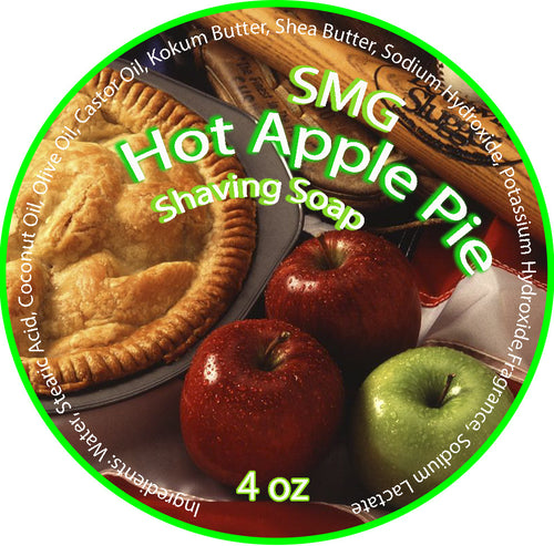 SMG Hot Apple Pie Shave Soap