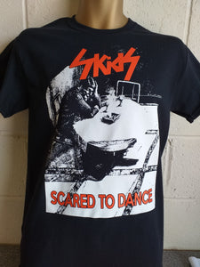 "Skids ""Scared to Dance"" T shirt - Black"