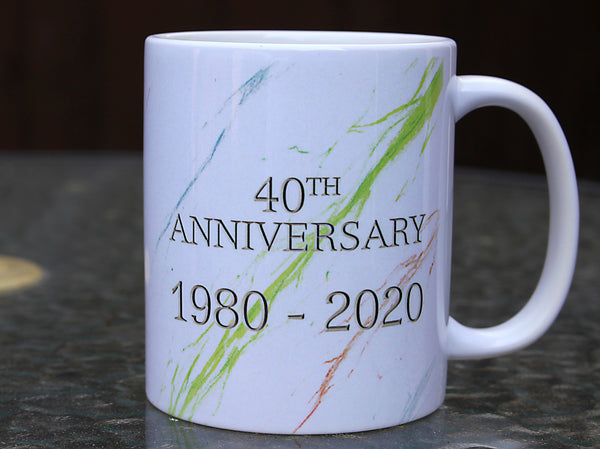 The Absolute Game 40th Anniversary Ceramic Mug