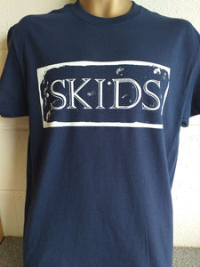 "Skids ""Absolute Game"" T shirt - Navy Blue. (Small Only)"