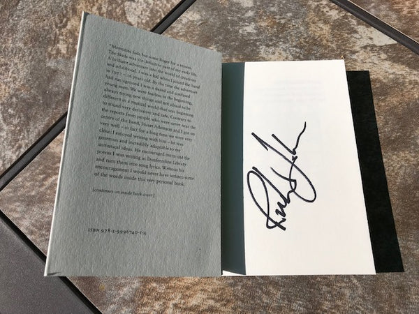 NO BAD WORDS - Signed Book