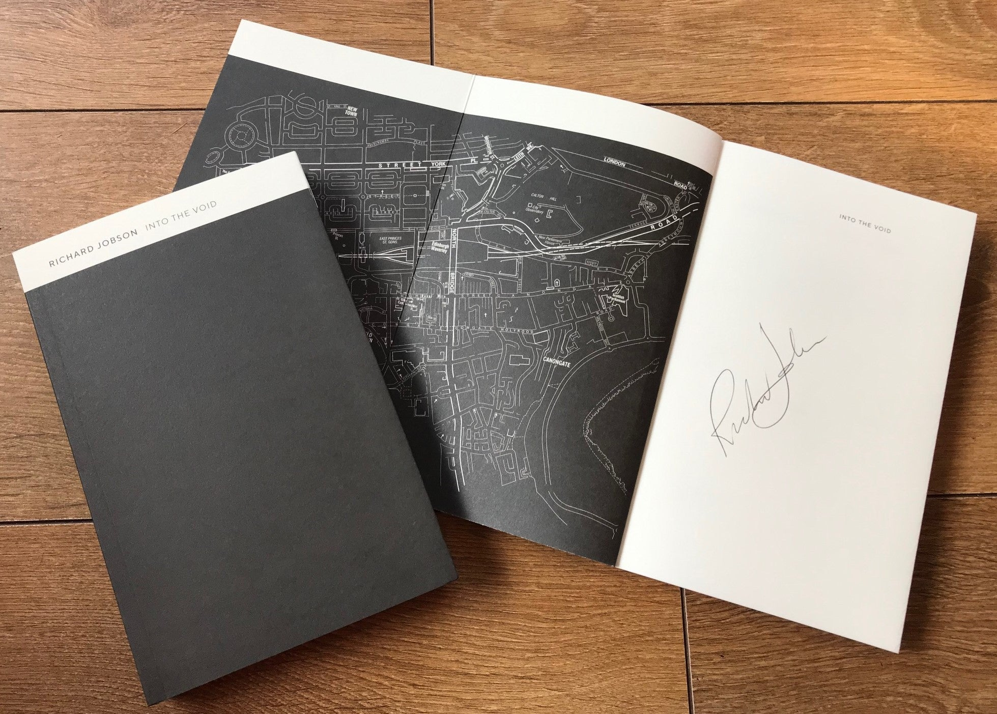 INTO THE VOID - Signed Book