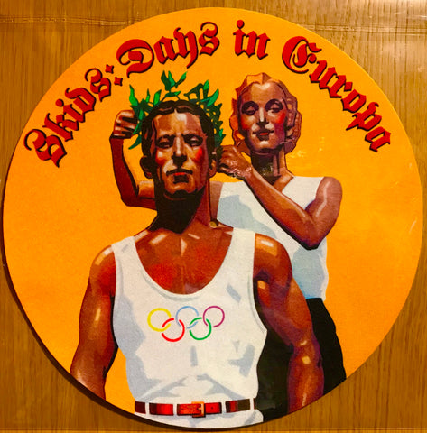 """Days In Europa"" - Turntable Slip Mat"