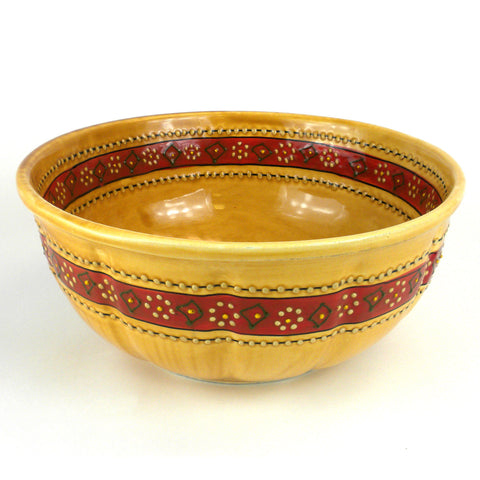 Large Bowl - Honey Handmade and Fair Trade