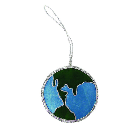 Globe Holiday Ornament - WorldFinds (H)