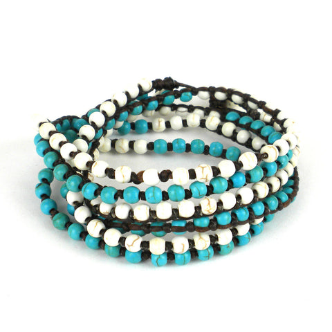 Clear Water Wrap Bracelet - Global Groove (J)