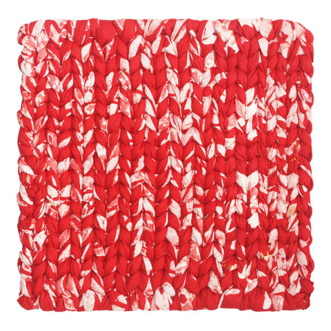 Recycled Fabric Trivet Red - Global Mamas (T)
