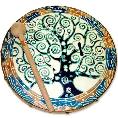 Frame Drum Tree Of Life - Jamtown World Instruments