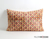 Sabrina modern ikat velvet pillow cover - pillowmehome