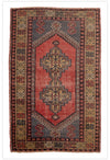 Vintage Turkish Nigde Rug - 3.10 x 6.2 feet - pillowmehome